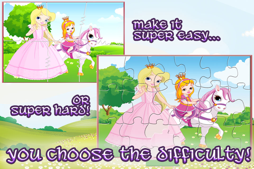 Screenshot Princess Pony – Jigsaw Puzzles for Kids with Horses, Ponies, Unicorns and Fairies