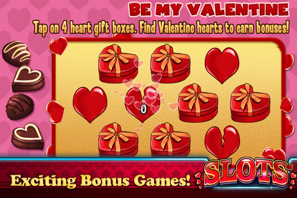 Screenshot Slots™: Valentine's Edition
