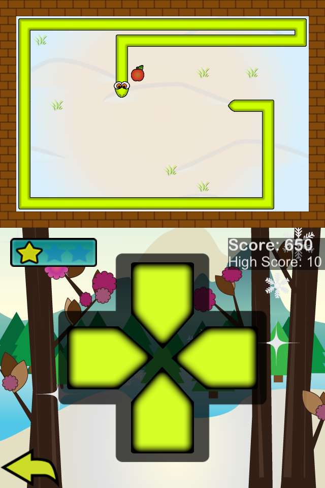 Screenshot Snake +